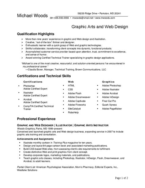 Resume Highlights describing sales experience resume