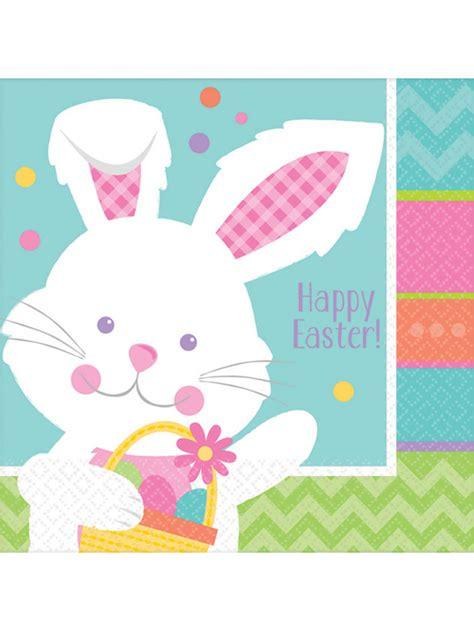 Tovaglioli Di Pasqua by 16 Tovaglioli Di Carta Coniglietto Di Pasqua Addobbi E