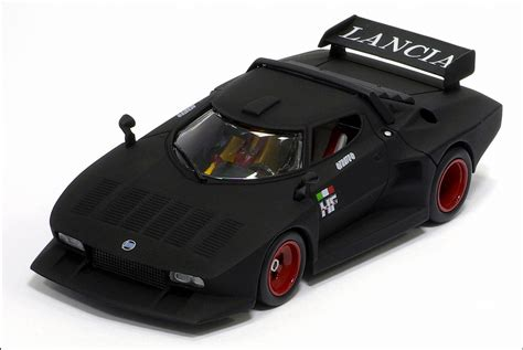 Lancia Stratos Turbo Kyosho Lancia Stratos Turbo 5 Matt Black 03143bk
