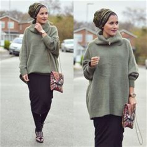 Jumper Kulot inspiration on hijabs fashion and