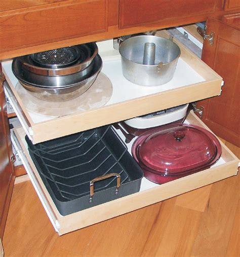 Cabinet Roll Out Shelves by Wood Roll Out Cabinet Shelf Wide In Pull Out Cabinet Shelves