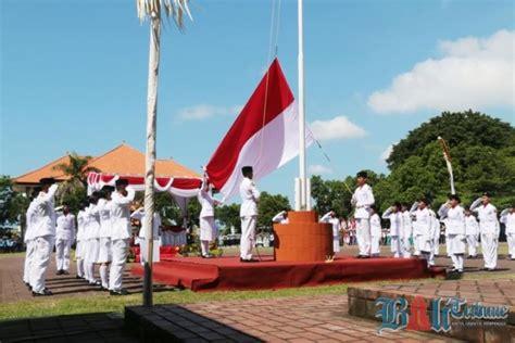 detik bali upacara peringatan detik detik proklamasi kemerdekaan ri