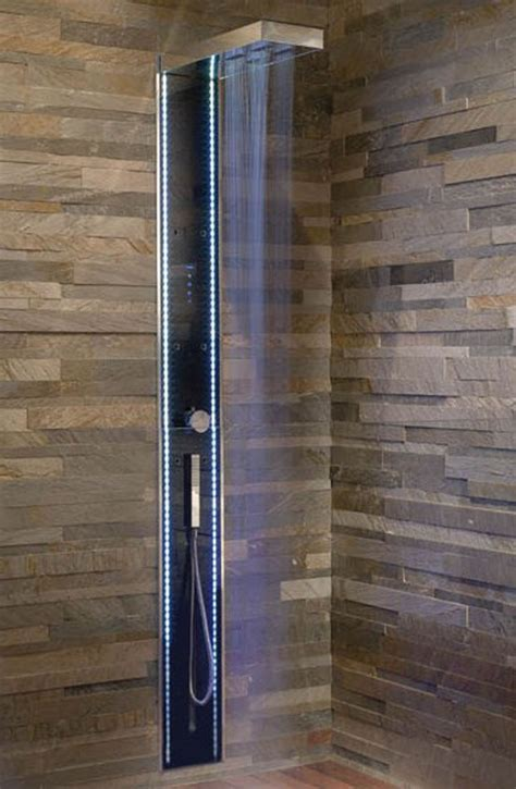 stone bathroom showers bathroom open shower ideas for small modern bathrooms