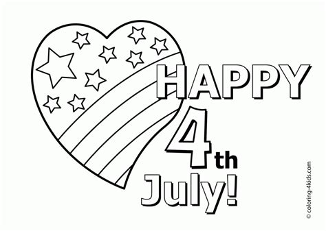 july 4 coloring pages az coloring pages