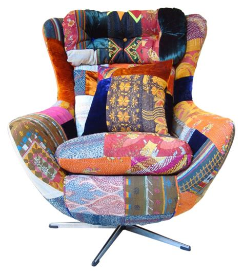 Patchwork Egg Chair - squint limited the vintage egg weet iemand of er zoiets