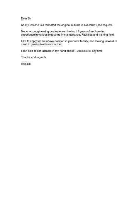 simple covering letter simple cover letter for resume berathen