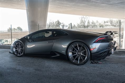 grey lamborghini wallpaper adv1 wheels lamborghini huracan cars grey dark modified