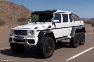 forget your 4x4 it s time for the six by six mercedes