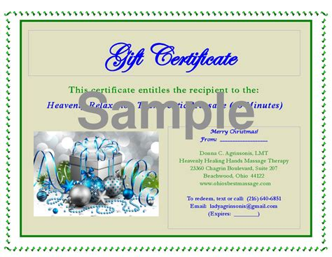 gift certificate template pdf gcp auditor sle resume