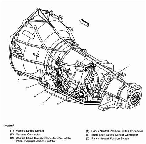 2002 chevy silverado transmission diagram 2002 free