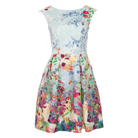 Dress Flower floral print dresses for summer wardrobelooks