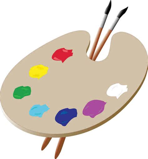 artists clipart clip artist palette cliparts co