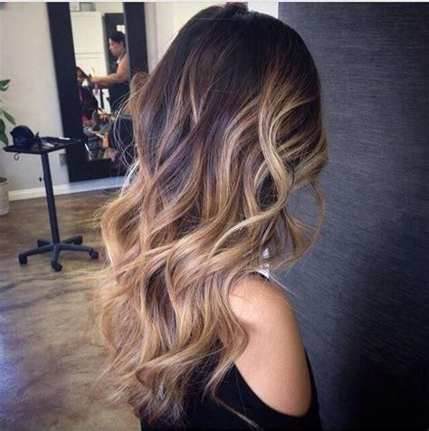 ombre bunette blonde brunette on bottom 25 insanely awesome ombre hair red blue purple blonde