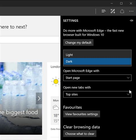themes in microsoft how to enable the dark theme in microsoft edge