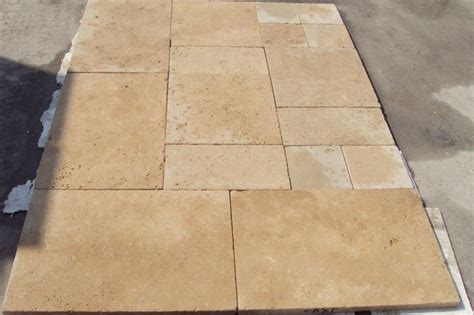 tumbled light travertine mediterranean wall and floor tile other metro by travertine marble