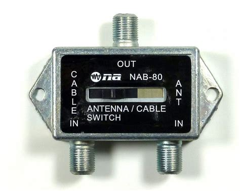 philmore coaxial ab game antenna cable tv catv
