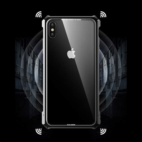 luxury tempered glass back cover metal bumper for iphone xs max xr 7 8 plus ebay