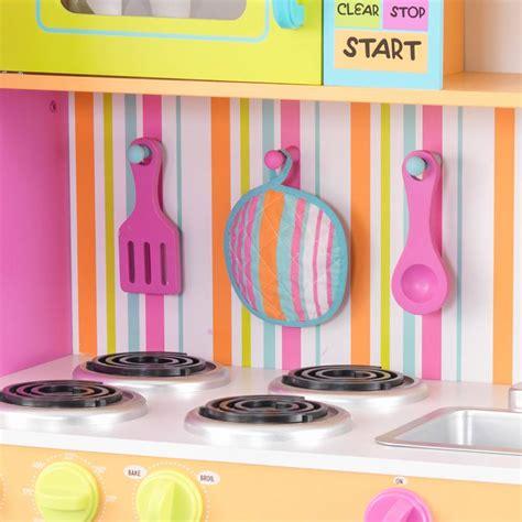 kidkraft grote vrolijke luxe keuken 53100 kidkraft grote vrolijke luxe kinderkeuken het houten