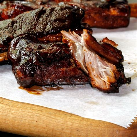 pressure cooker st louis ribs with whiskey bbq sauce