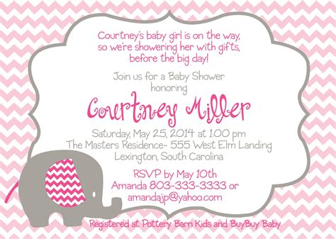 Baby Shower Wording by Wording For Baby Shower Invitation Wording For Baby Shower