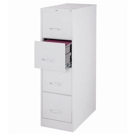 hirsh industries 2500 series 4 drawer letter file gray
