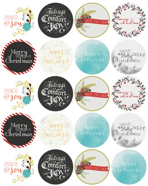 free printable oval jar labels search results for christmas jar labels template