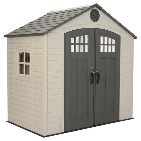 lifetime outdoor storage shed home garden
