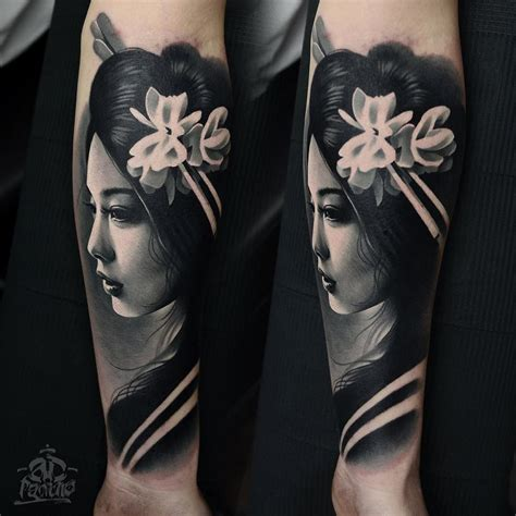 tattoo designs geisha beautiful geisha done by ad pancho tattoos