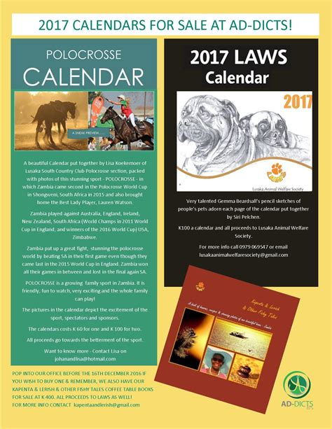 2016 Calendars For Sale 12 12 2016 2017 Calendars For Sale At Ad Dicts 187 Ad