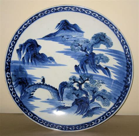 blue and white porcelain chinese blue white porcelain charger from