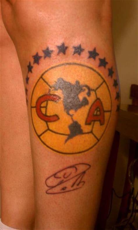 body kraze tattoo del amo club america tattoo tatuaje escudo del club america