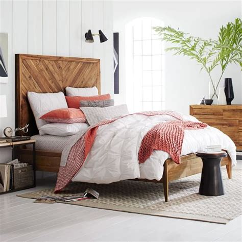 west elm bed alexa reclaimed wood bed west elm