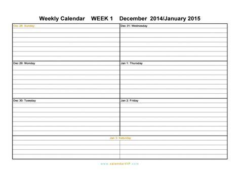 two week calendar template two week calendar free calendar template