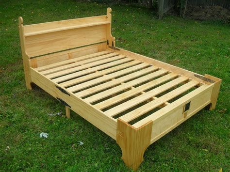 Bed In A Box Frame This Amazing Fold Up Bed Can Be Stored In A Small Wooden Box Boredombash