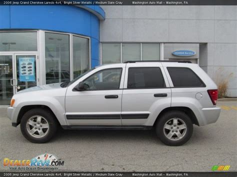 silver jeep grand 2006 2006 jeep grand laredo 4x4 bright silver metallic