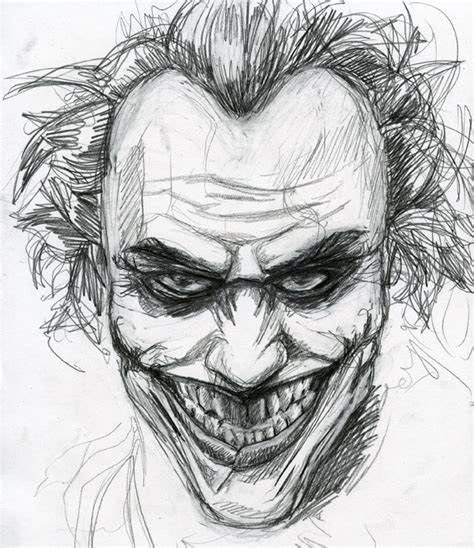Joker Sketch By Jimothy Bobert On Deviantart Drawings Of Joker Faces 2