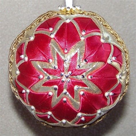 620 best quilted ornaments images on pinterest quilted