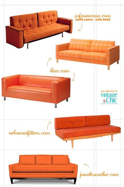 mad men couch best 25 orange sofa ideas on pinterest orange sofa
