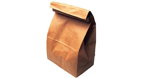 A Paper Bag - throw your money away in this 395 paper bag
