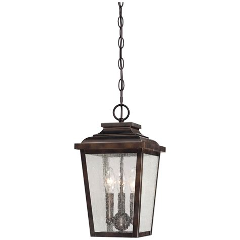 Outdoor Chain Lights Irvington Manor Three Light Outdoor Chain Hung In Chelesa