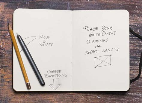 12 Free Sketchbook Mockup Inspire We Trust