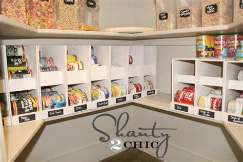 Food Pantry Rack Pantry Ideas Diy Canned Food Storage Shanty 2 Chic