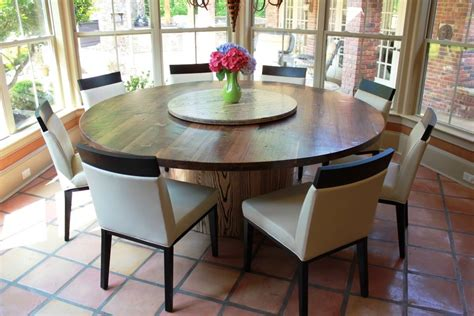 dining room table with lazy susan walnut and ash table lazy susan in the middle