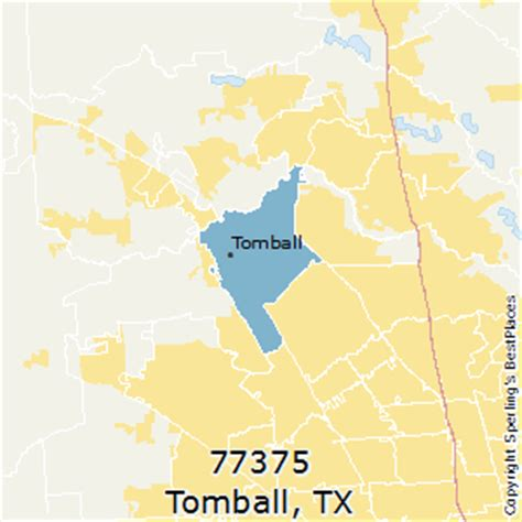 tomball texas map best places to live in tomball zip 77375 texas