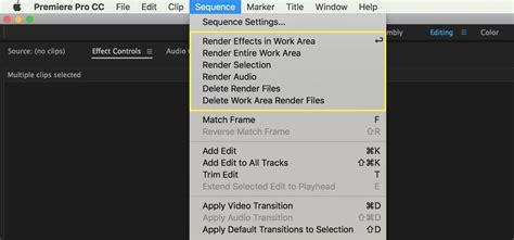 Adobe Premiere Pro Yellow Render Line | 10 tips to improve playback in adobe premiere pro