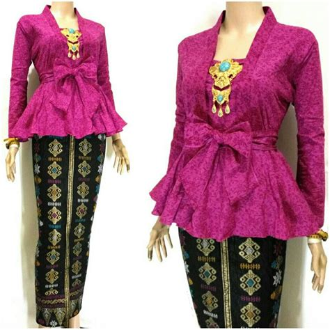 Baju Kebaya Kartini Polos model dress kebaya terbaru holidays oo