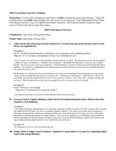 grant reporting template best photos of grant report template sle grant