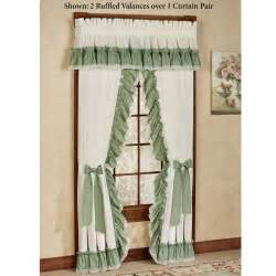 Priscilla Curtains With Attached Valance Artistic Priscilla Curtains Modern Curtain Priscilla Curtains Brown