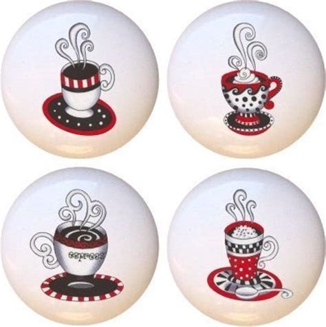 Farm Fresh Knobs And Pulls by Espresso Coffee Drawer Pulls Knobs Set Of 4 By Farm Fresh