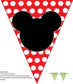 Mickey Mouse Clubhouse Wall Stickers mickey banner mickey mouse party decorations free